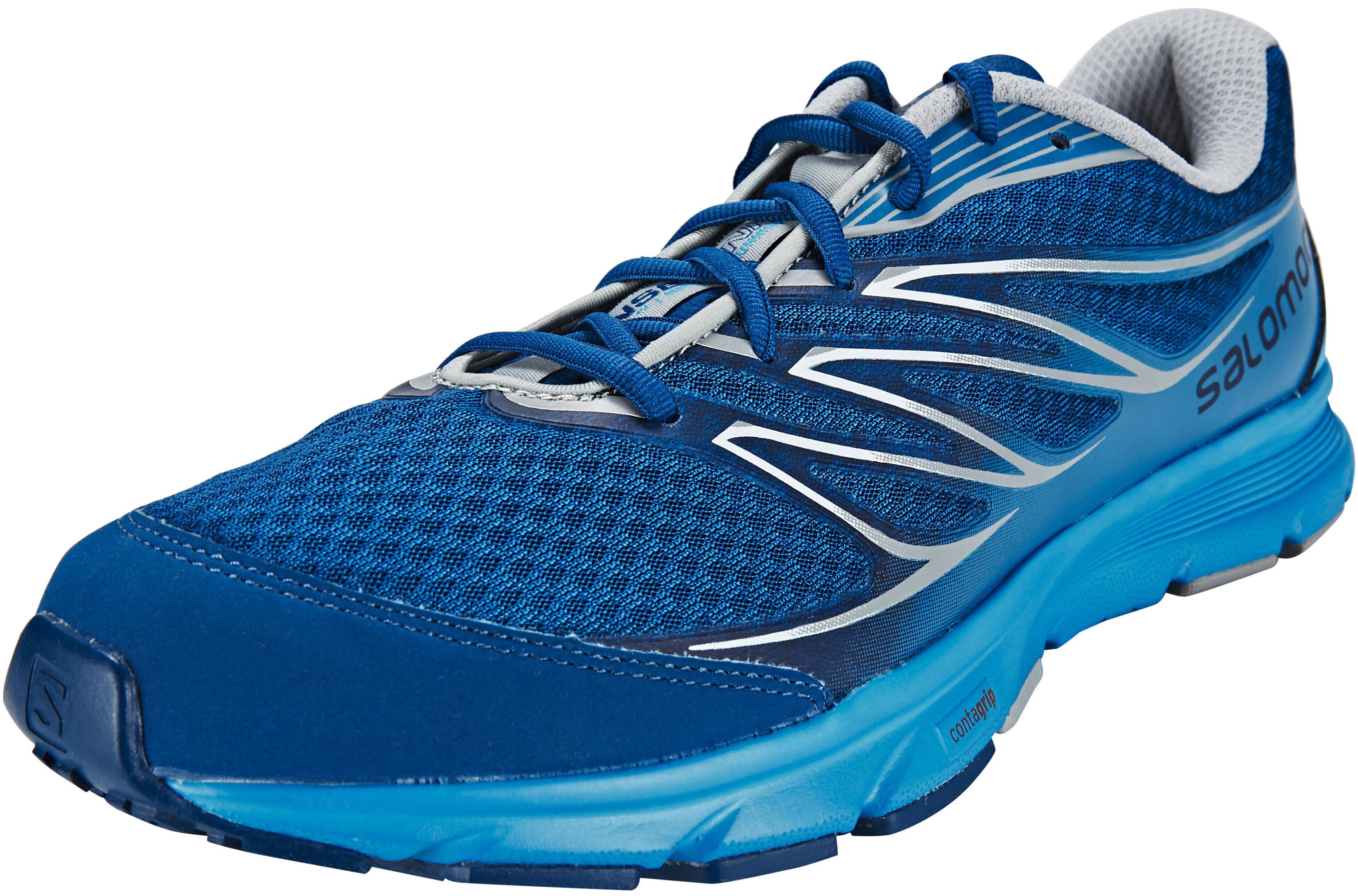daf79a41f420 Salomon Sense Link Running Shoes Men blue at Bikester.co.uk